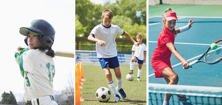 Multiple Sport Shapes Well-Rounded Kids
